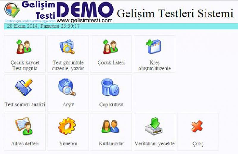 Gelişim Testleri Programı
